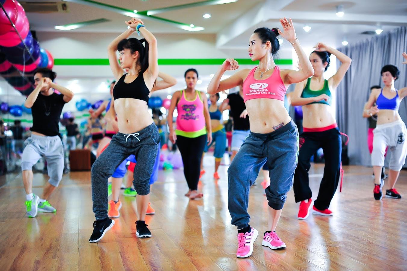 Танец для похудения зумба